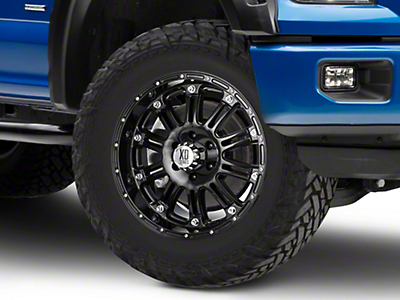 XD Hoss Gloss Black 6-Lug Wheel - 20x9 (04-18 F-150)