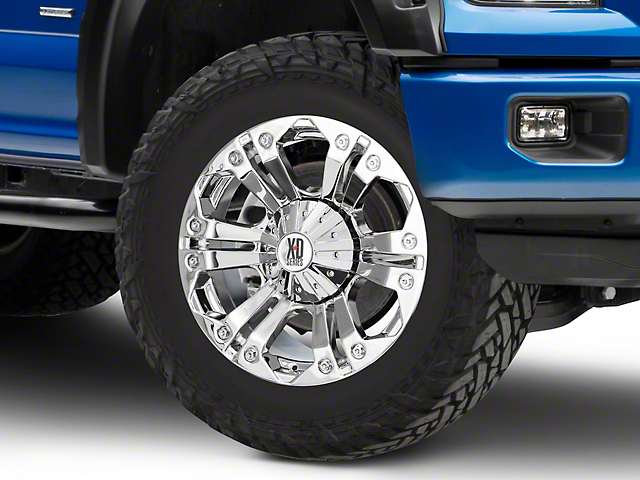 XD Monster Chrome 6-Lug Wheel - 20x9; 18mm Offset (15-19 F-150)