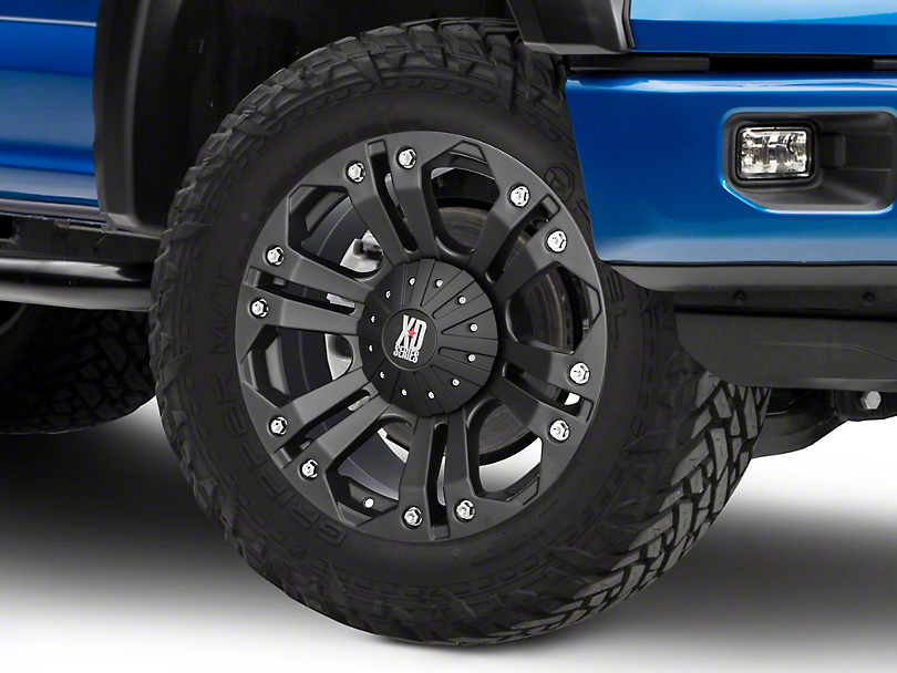 XD Monster Matte Black 6-Lug Wheel - 20x9 (04-19 F-150)