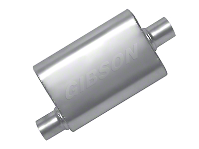 Gibson MWA Superflow Center/Center Oval Muffler - 2.5 in. (97-17 All)