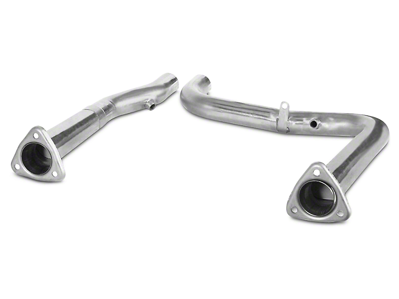 Dynatech SuperMAXX Off-Road Mid-Pipe (99-03 Lightning; 02-03 Harley Davidson w/ Long Tube Headers)