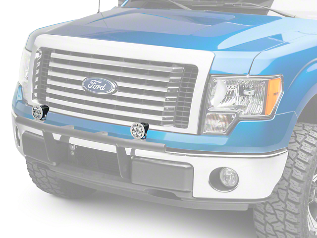 Baja Designs Squadron-R Sport LED Light - Spot Beam (97-18 All)