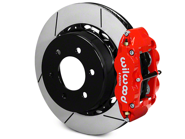 Wilwood Superlite 6R Rear Big Brake Kit - Red (12-18 F-150)
