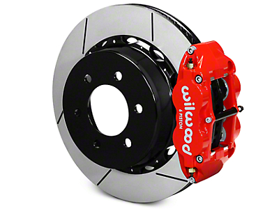 Wilwood Superlite 6R Rear Big Brake Kit - Red (12-18 All)