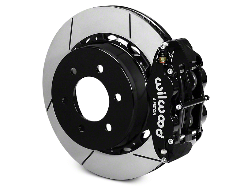 Wilwood Superlite 6R Rear Big Brake Kit - Black (12-17 All)