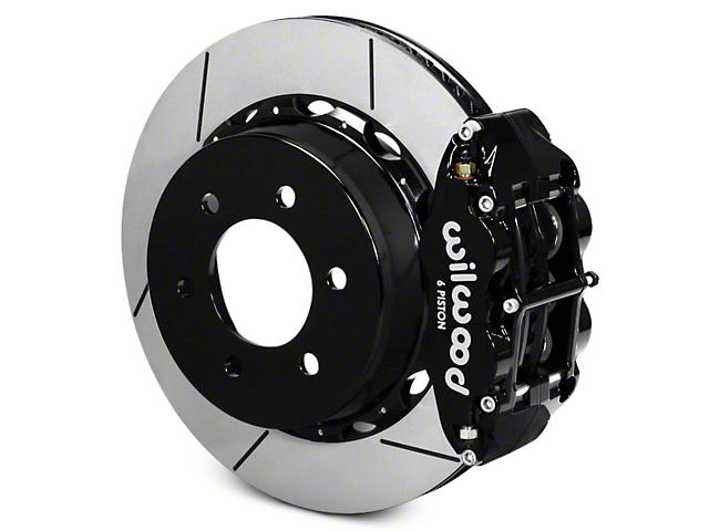 Wilwood Superlite 6R Rear Big Brake Kit - Black (12-18 All)