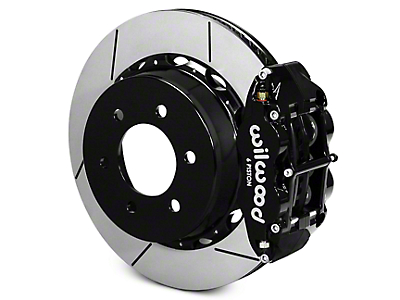 Wilwood Superlite 6R Rear Big Brake Kit - Black (12-18 All)