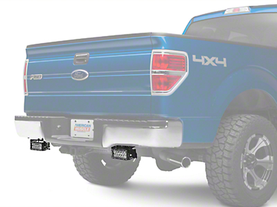 ZRoadz Rear Bumper Light Mount w/ Two 6 in. LED Light Bars (09-14 F-150)