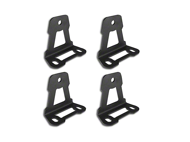 Leitner Designs Bed Rack Roof Top Tent Mounting Brackets (97-17 All)