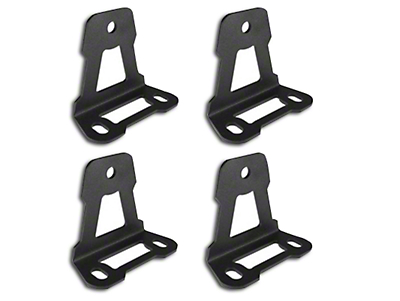 Leitner Designs Bed Rack Roof Top Tent Mounting Brackets (97-18 All)