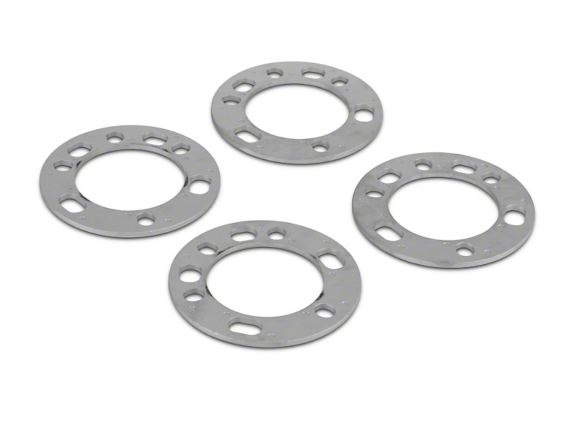 Coyote 5 & 6 Lug Wheel & Brake Spacers - 1/4 in. (97-17 All)