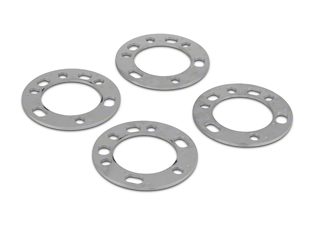 Coyote 5 & 6 Lug Wheel & Brake Spacers - 1/4 in. (97-18 All)
