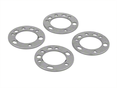 Coyote 5 & 6 Lug Wheel & Brake Spacers - 1/4 in. (97-18 F-150)