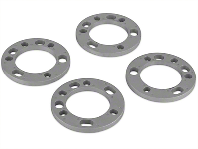 Coyote 5 & 6 Lug Wheel & Brake Spacers - 1/2 in. (97-18 All)