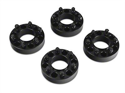 Coyote Billet Aluminum Hubcentric 6-Lug Wheel Spacers - 1.5 in. (15-18 All)