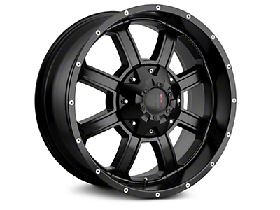 Havok Off-Road H101 Matte Black 6-Lug Wheel - 18x9 (04-18 All)