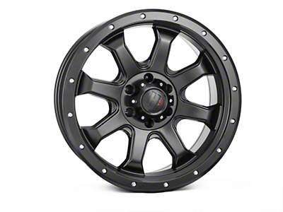 Havok Off-Road H105 Matte Black 6-Lug Wheel - 20x9 (04-17 All)