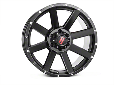 Havok Off-Road H107 Matte Black 6-Lug Wheel - 20x9 (04-18 All)