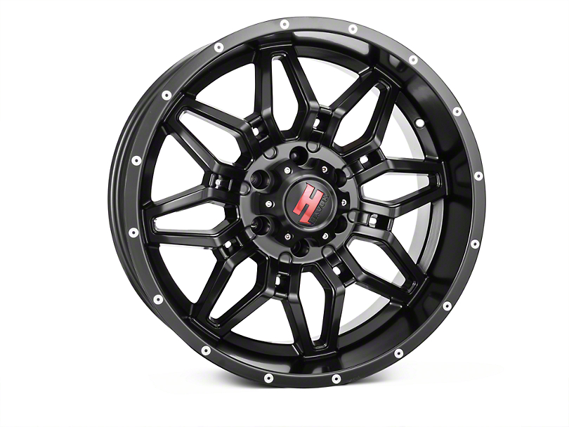 Havok Off-Road H109 Matte Black 6-Lug Wheel - 20x9 (04-18 All)