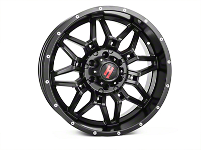 Havok Off-Road H109 Matte Black 6-Lug Wheel - 20x9 (04-17 All)