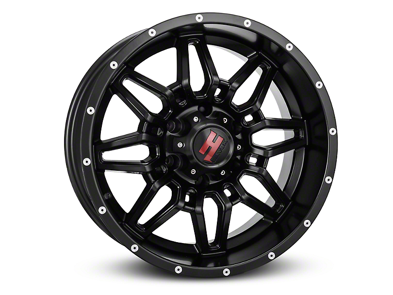 Havok Off-Road H109 Matte Black 6-Lug Wheel - 18x9 (04-17 All)