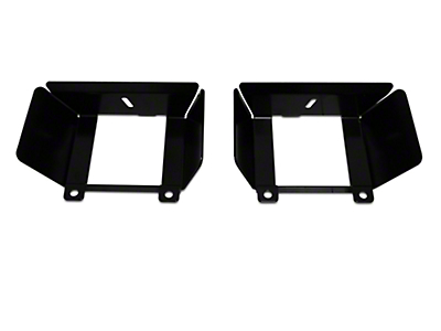 Baja Designs Fog Light Pocket Mounting Brackets (15-17 All, Excluding Raptor)