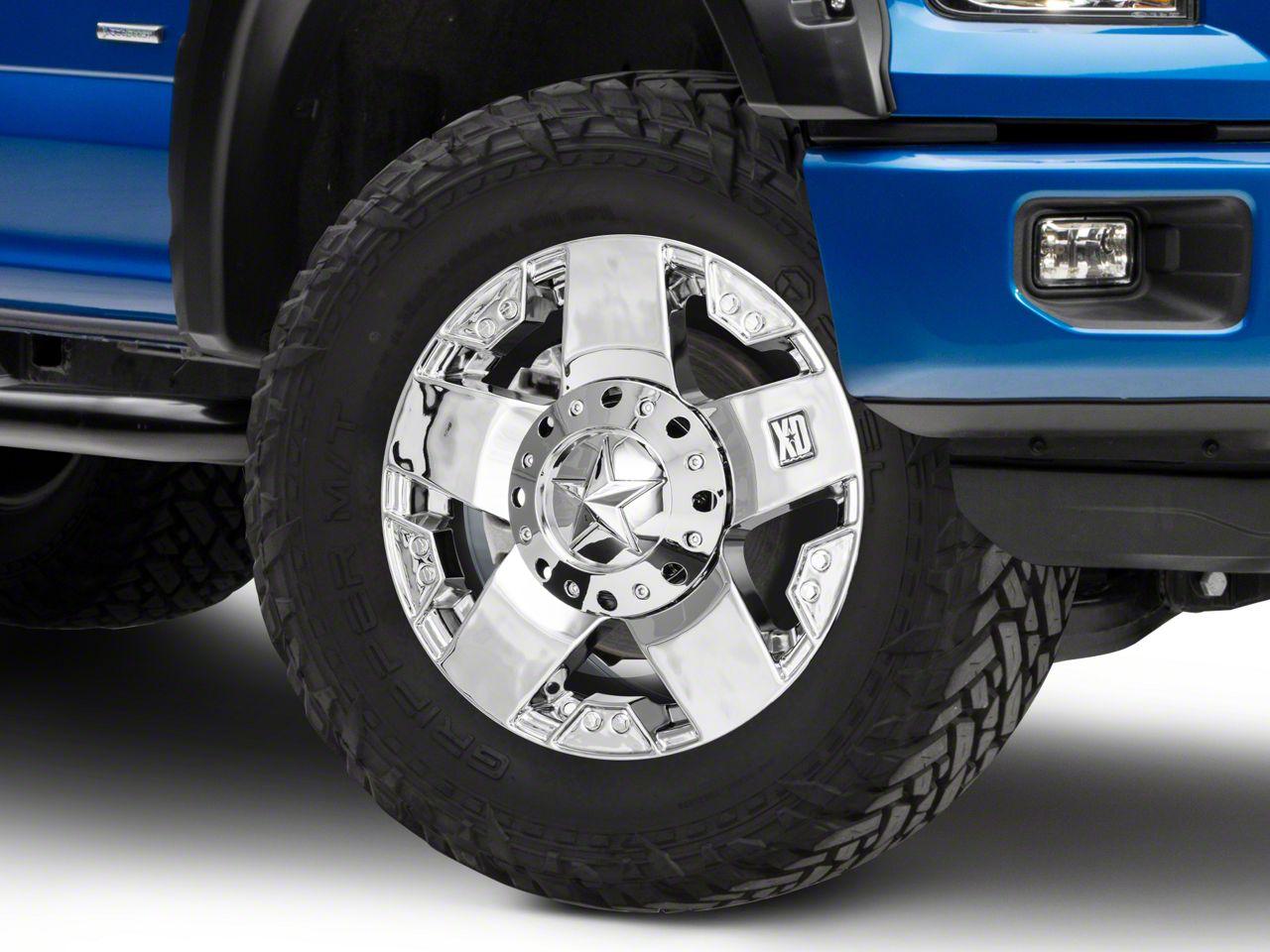 How to Install Rockstar XD775 Chrome 6-Lug Wheel - 17x8 +