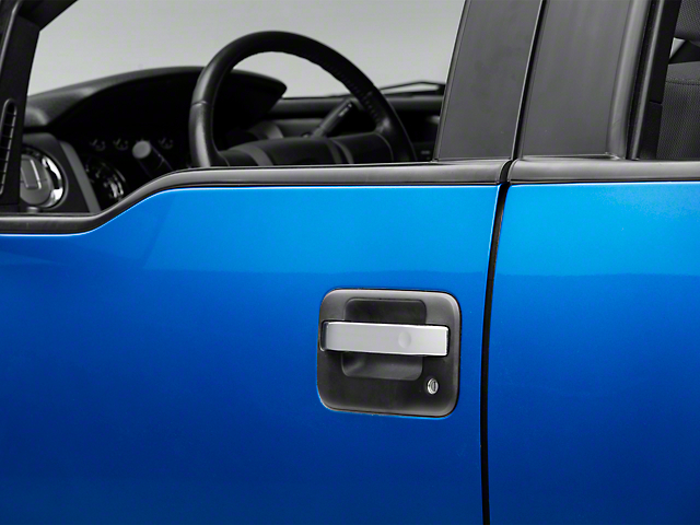 Putco Chrome Door Handle Covers - Center Section Only (04-14 F-150)