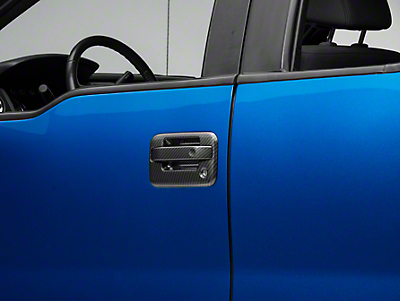 SpeedForm Carbon Fiber Door Handle Covers (04-14 F-150)