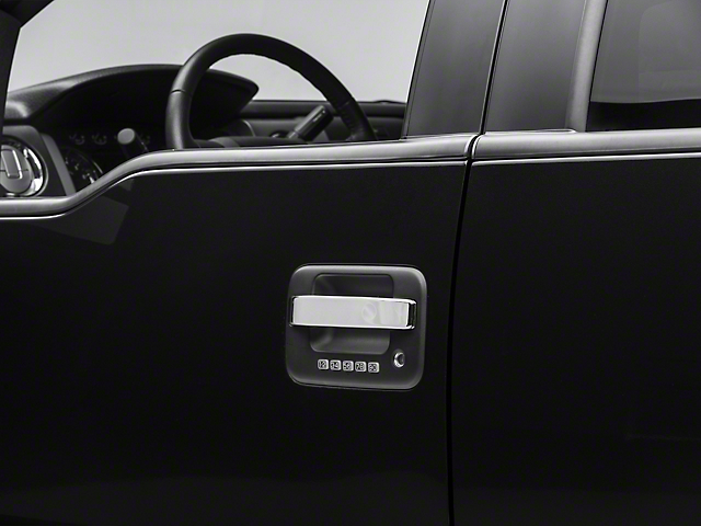 SpeedForm Chrome Door Handle Covers - Center Section Only (04-14 F-150)