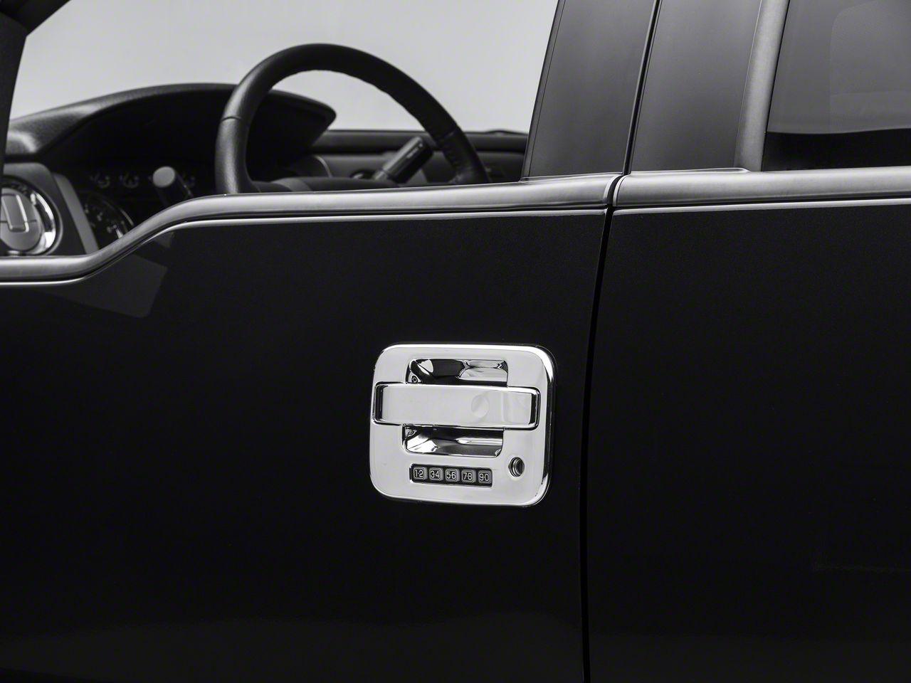SpeedForm Chrome Door Handle Covers - 4-Door (04-14 F-150 w/Key Pad, w/o Passenger Key Hole)