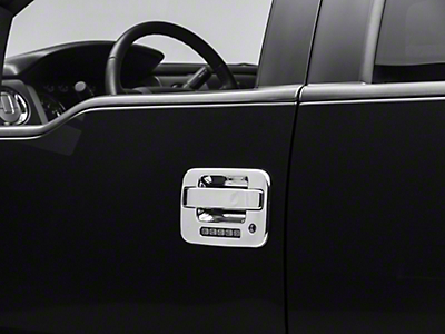 SpeedForm Chrome Door Handle Covers (04-14 F-150)