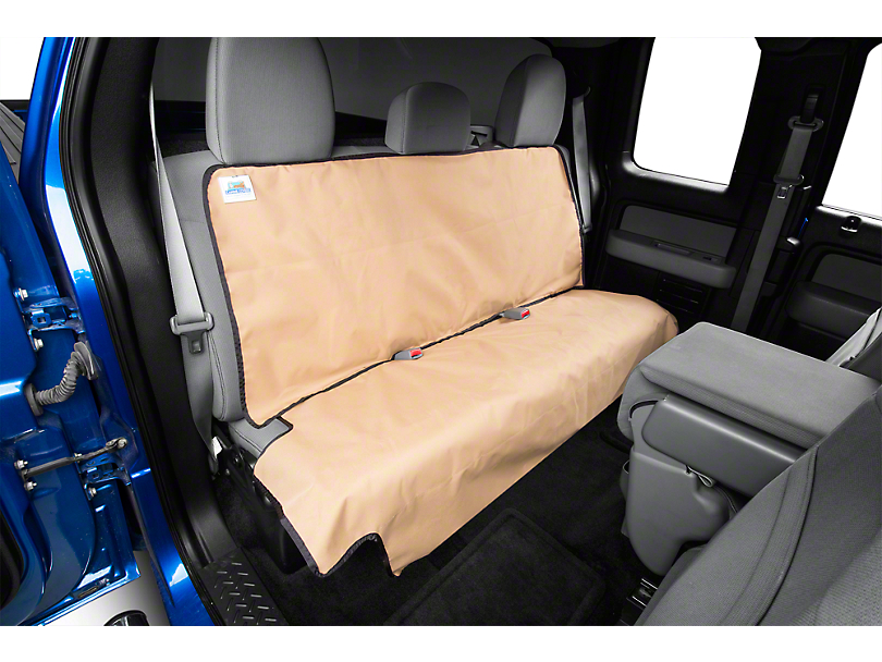 Covercraft Canine Covers Econo Rear Seat Protector - Tan (97-14 F-150 SuperCab; 01-08 F-150 SuperCrew)