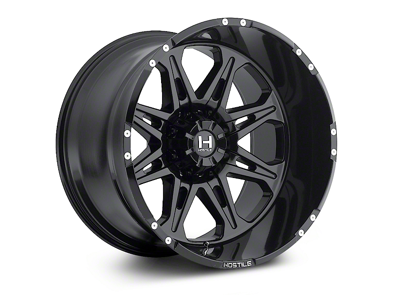 Hostile Havoc Asphalt 6-Lug Wheel - 18x9 (04-18 All)