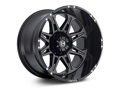 Hostile Havoc Asphalt 6-Lug Wheel - 18x9 (04-17 All)