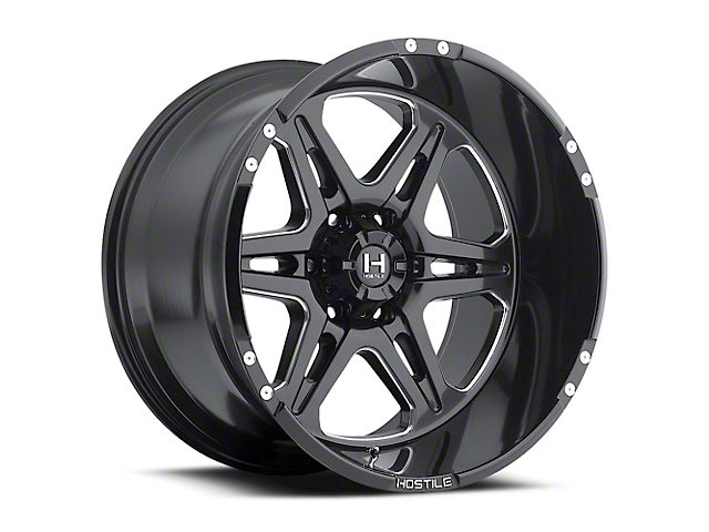 Hostile Havoc Blade Cut 6-Lug Wheel - 18x9 (04-17 All)