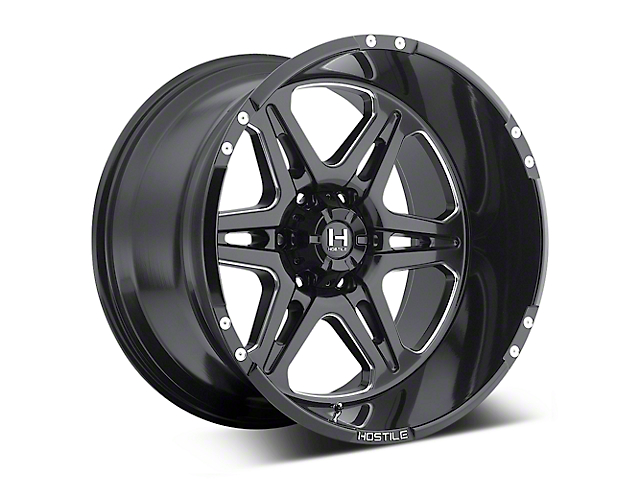 Hostile Havoc Blade Cut 6-Lug Wheel - 20x10 (04-18 All)