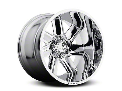 Hostile Switch Blade Armor Plated 6-Lug Wheel - 20x10 (04-17 All)