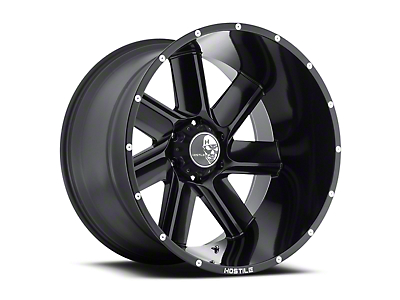 Hostile Switch Blade Asphalt 6-Lug Wheel - 20x9 (04-17 All)
