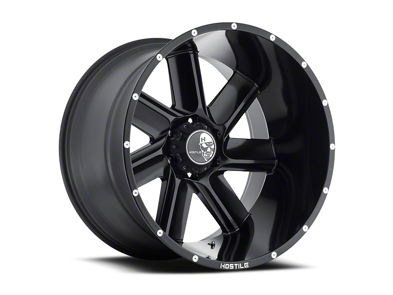 Hostile Switch Blade Asphalt 6-Lug Wheel - 20x10 (04-17 All)
