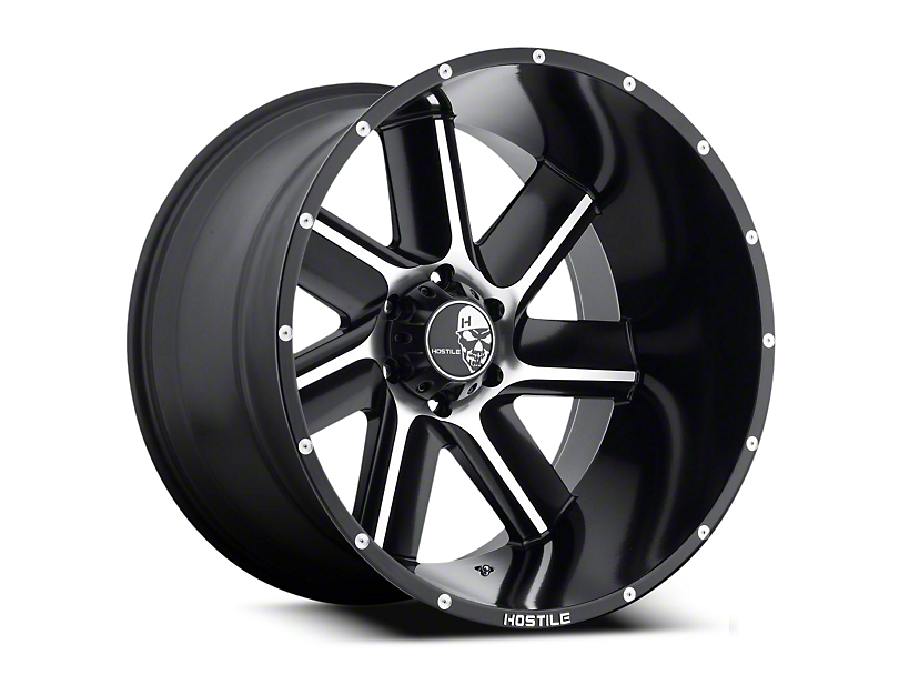 Hostile Switch Blade Blade Cut 6-Lug Wheel - 20x10 (04-17 All)
