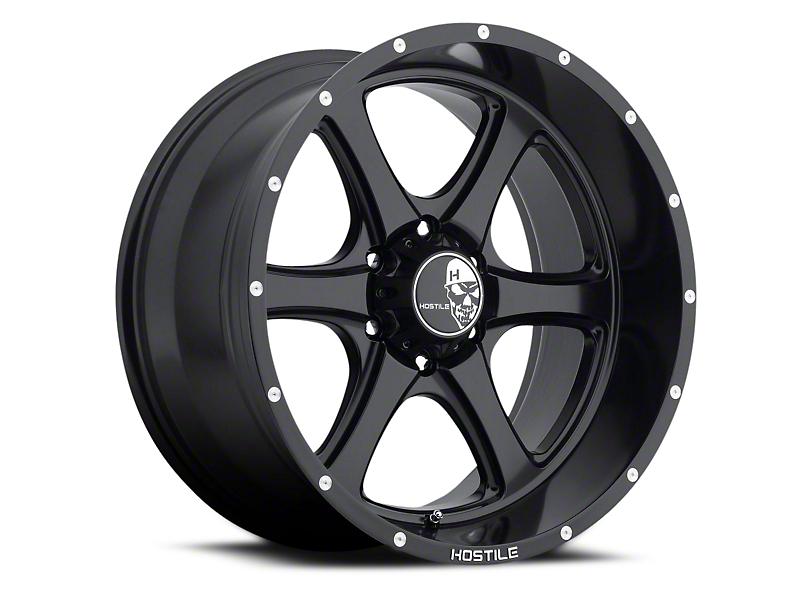 Hostile Exile Asphalt 6-Lug Wheel - 20x10 (04-18 All)