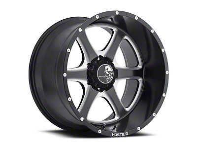 Hostile Exile Blade Cut 6-Lug Wheel - 20x9 (04-18 All)