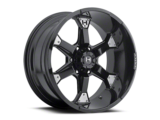 Hostile Knuckles Blade Cut 6-Lug Wheel - 20x10 (04-18 All)
