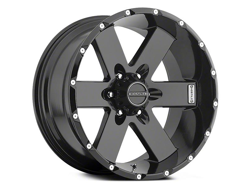 Hostile Moab Asphalt 6-Lug Wheel - 17x9 (04-17 All)
