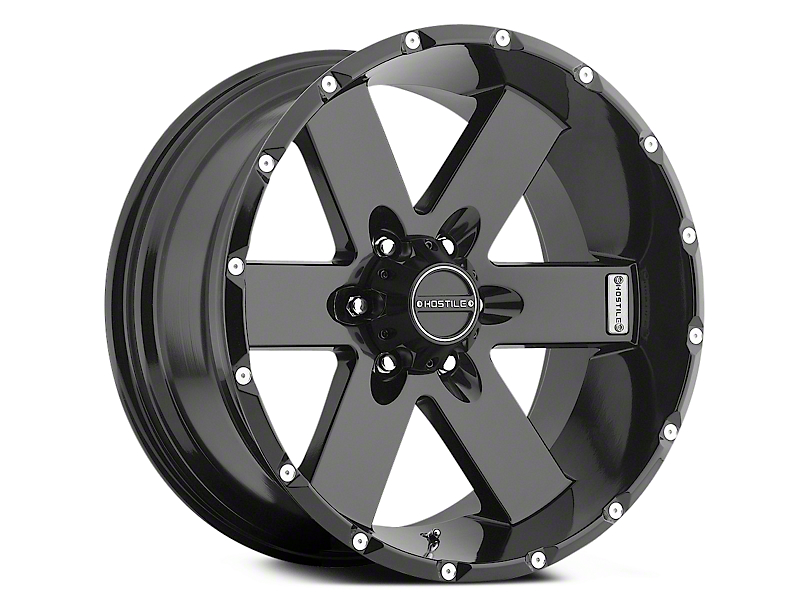 Hostile Moab Blade Cut 6-Lug Wheel - 17x9 (04-18 All)