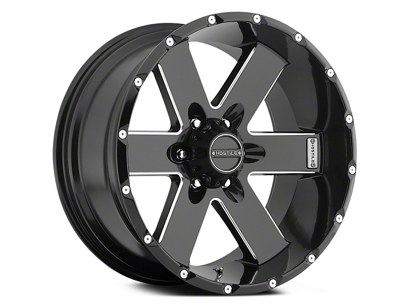 Hostile Moab Blade Cut 6-Lug Wheel - 20x10 (04-18 All)