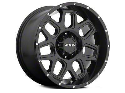 MKW Offroad M92 Full Satin Black 6-Lug Wheel - 18x9 (04-18 All)