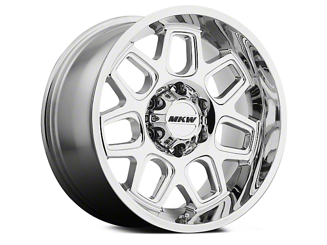 MKW Offroad M92 Chrome 6-Lug Wheel - 18x9 (04-18 All)