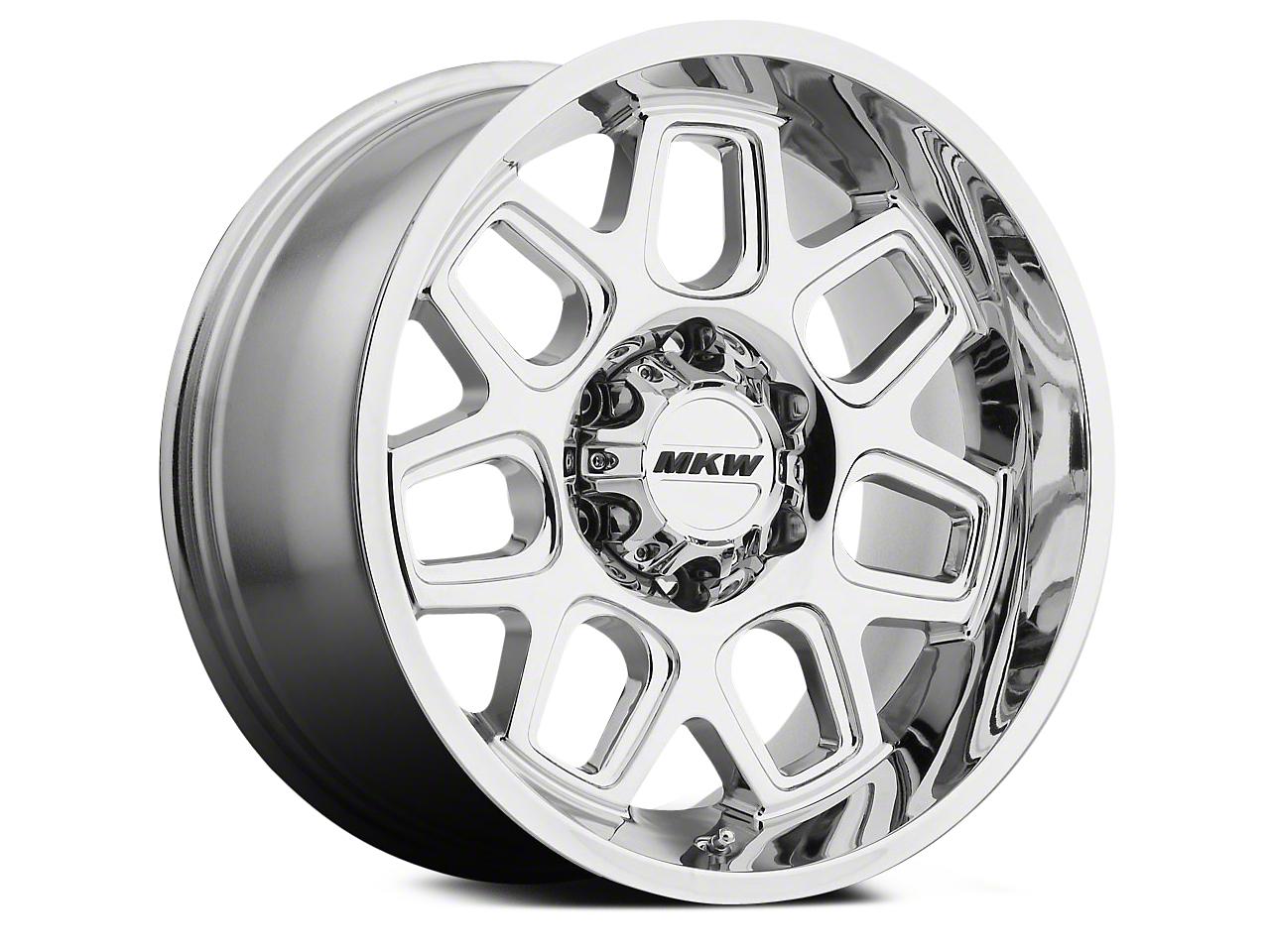 MKW Offroad M92 Chrome 6-Lug Wheel - 18x9 (04-18 All)